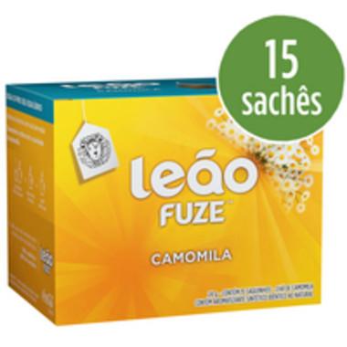 Chá Leão Fuze Camomila c/15 Saquinhos 15g