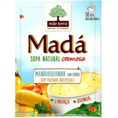 Sopa Instantânea Mãe Terra Madá Mandioquinha com Ervas 17g