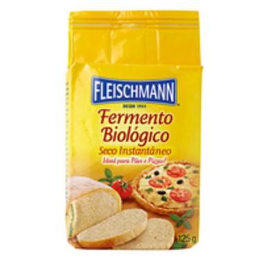 Fermento Fleischmann Biológico em Pó 125g
