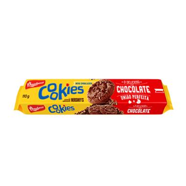 Biscoito Bauducco Cookies Chocolate 110g