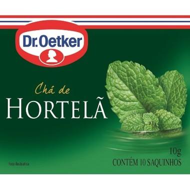 Chá Dr. Oetker Hortelã c/10 Saquinhos 10g