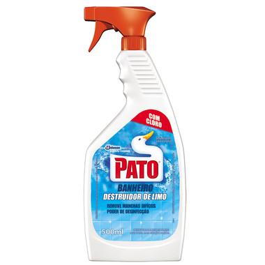 Limpador Sanitário Pato Banheiro Destruidor de Limo Aparelho 500ml