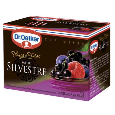 Chá Dr. Oetker Flores e Frutas Silvestres c/15 Saquinhos 30g