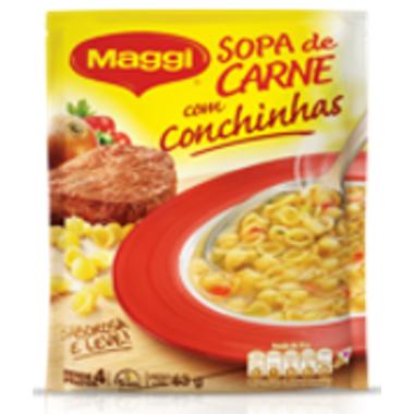 Sopa Maggi Carne com Conchinhas 63g