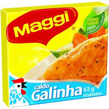 Caldo de Galinha Maggi c/6 - 63g