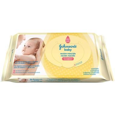 Lenço Umedecido Johnson's Baby Recém-nascido c/96