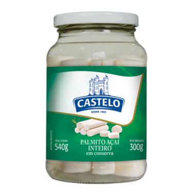 Palmito Castelo Açaí Inteiro 300g