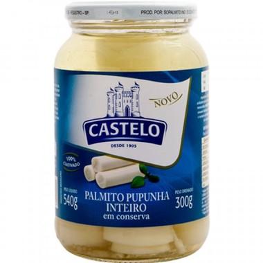 Palmito Castelo Pupunha Inteiro 300g