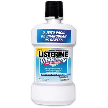 Antisséptico Bucal Listerine Whitening 250ml
