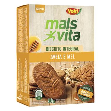 Biscoito Integral Mais Vita Aveia e Mel 90g