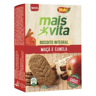 Biscoito Integral Mais Vita Maçã e Canela 90g
