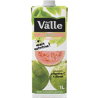 Néctar del Valle Mais Goiaba 1L