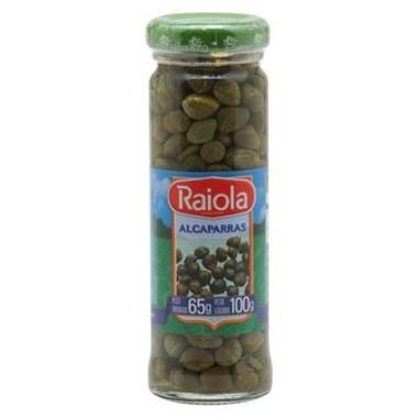 Alcaparras Raiola em Conserva 65g