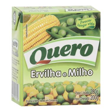 Ervilha e Milho Quero Caixa 200g