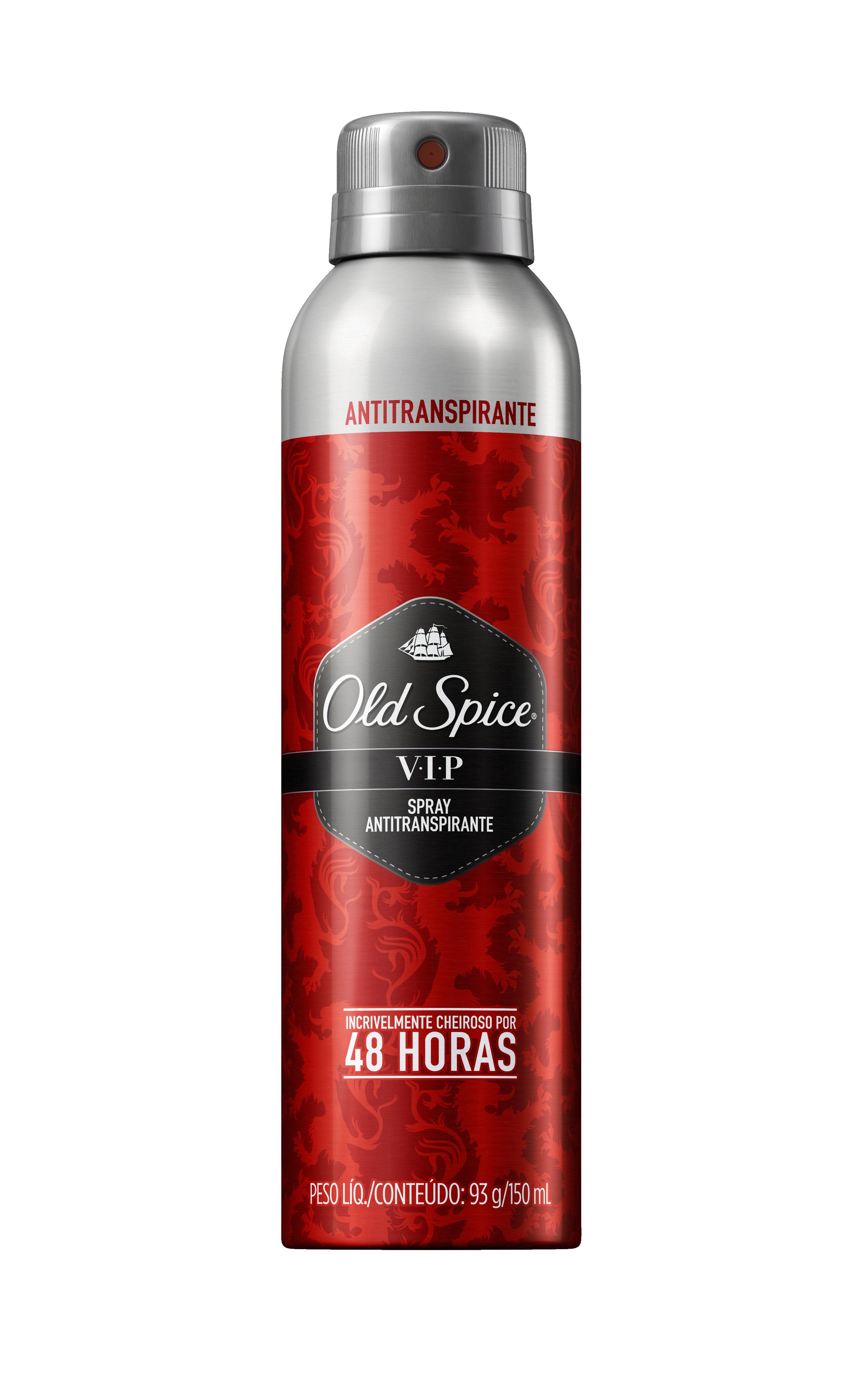 Desodorante Masculino Old Spice VIP Aerossol 150ml