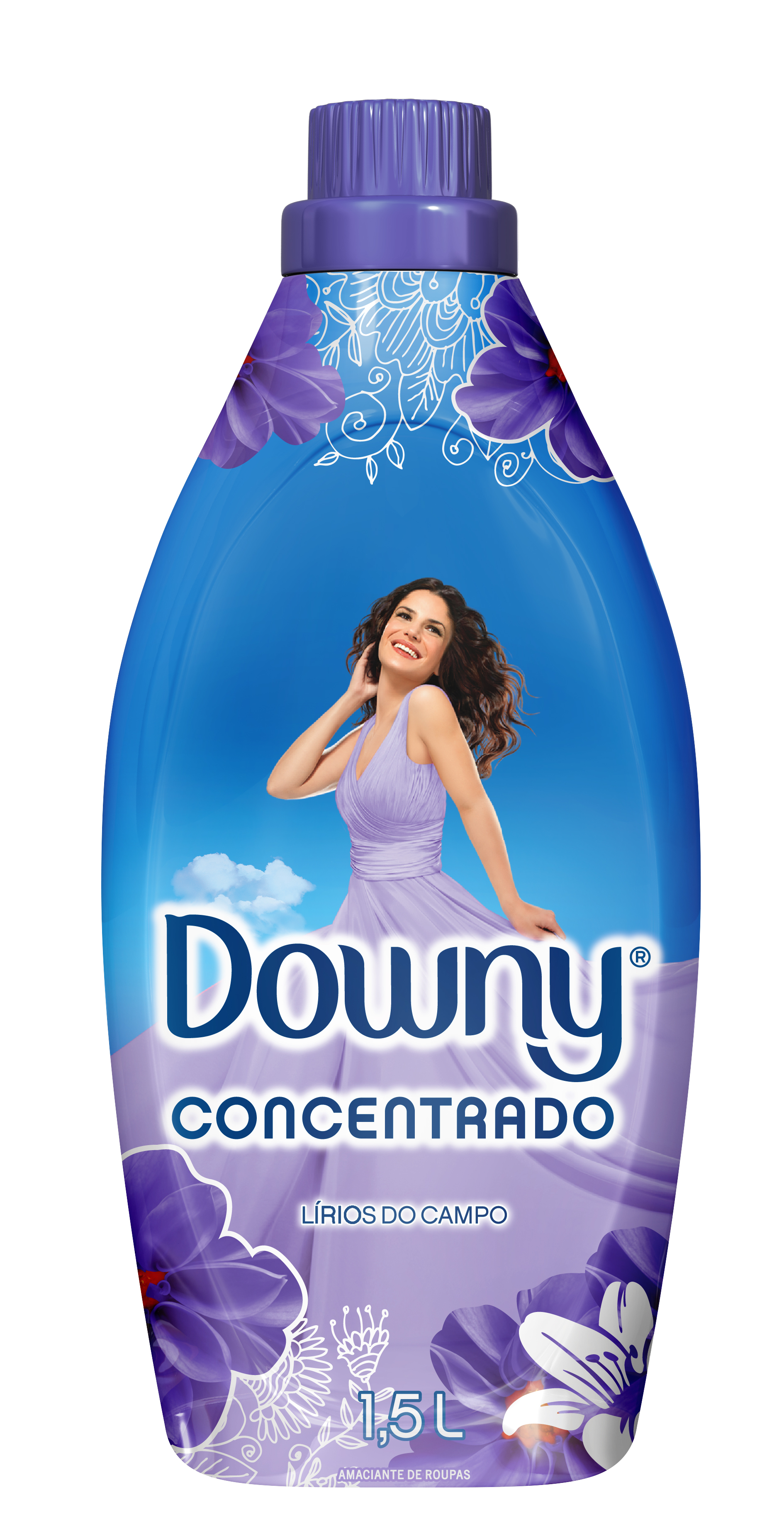 Amaciante Concentrado Downy Lírios do Campo 1,5L