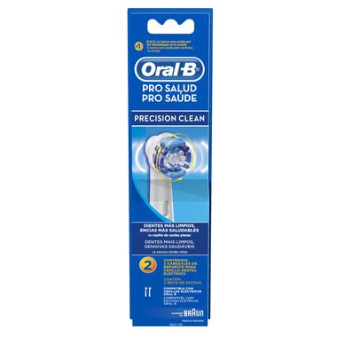 Refil Escova Elétrica Oral-B Precision Clean c/2