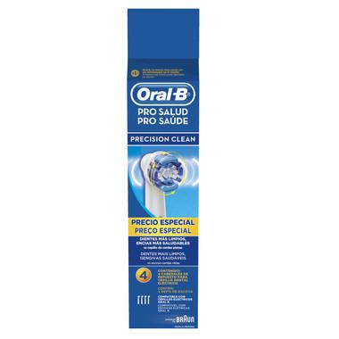 Refil Escova Elétrica Oral-B Precision Clean c/4