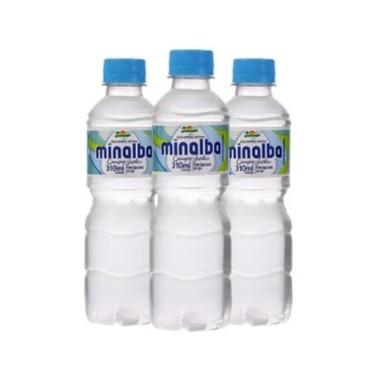 Água Mineral Minalba sem Gás 310ml c/12