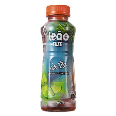 Chá Preto Leão Fuze Ice Tea Limão 300ml