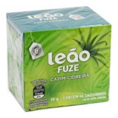Chá Leão Fuze Capim-Cidreira c/10 Saquinhos 10g