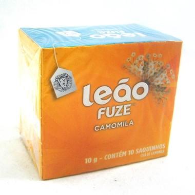 Chá Leão Fuze Camomila c/10 Saquinhos 10g