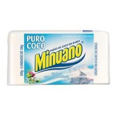 Sabão de Coco Minuano em Barra c/5 - 500g