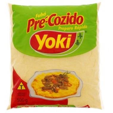 Fubá Yoki Pré-cozido 500g
