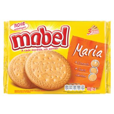 Biscoito Mabel Maria Crocante Suave 400g