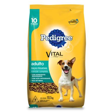 Ração para Cães Pedigree Vital Pro Adulto Raças Pequenas 10,1Kg