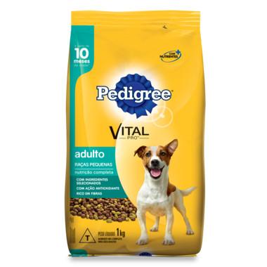 Ração para Cães Pedigree Vital Pro Adulto Raças Pequenas 1Kg