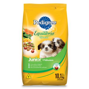 Ração para Cães Pedigree Equilíbrio Natural Junior Filhotes 10,1Kg