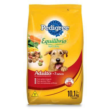 Ração para Cães Pedigree Equilíbrio Natural Adulto 7+ Anos 10,1Kg