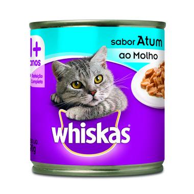 Alimento para Gatos Whiskas Adultos Atum Lata 290g