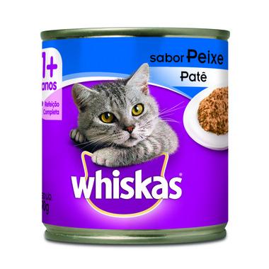 Alimento para Gatos Whiskas Adulto Peixe Lata 290g
