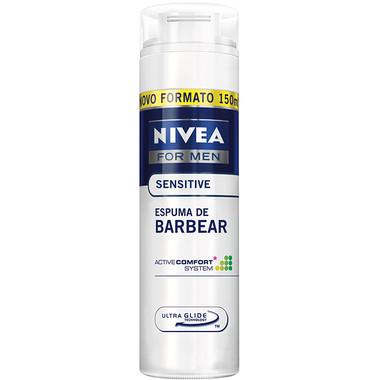 Espuma de Barbear Nivea Sensitive 195g