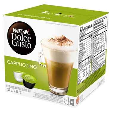 Cappuccino Nescafé Dolce Gusto c/16 cápsulas