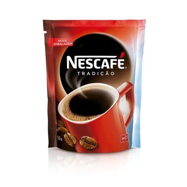 Café Nescafé Solúvel Tradição Sachê 50g