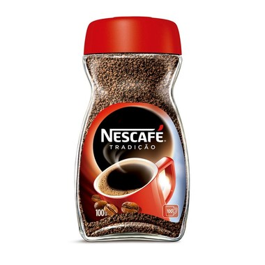 Café Nescafé Solúvel Tradição Vidro 100g