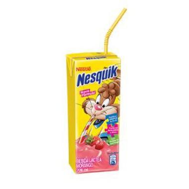 Bebida Láctea Nesquik Morango 200ml