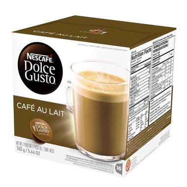 Café Nescafé Dolce Gusto au Lait c/16 cápsulas