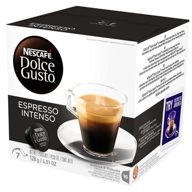 Café Nescafé Dolce Gusto Espresso Intenso c/16 cápsulas