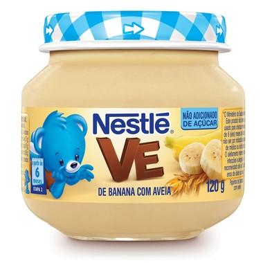 Papinha Nestlé de Banana com Aveia 120g