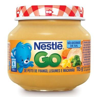 Papinha Nestlé de Peito de Frango com Legumes e Macarrão 115g