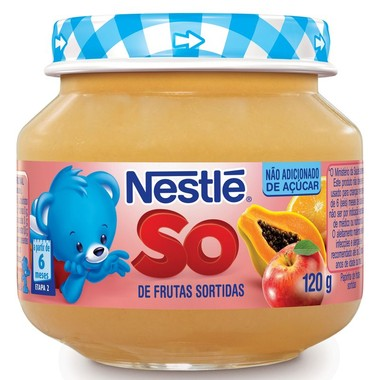 Papinha Nestlé de Frutas Sortidas 120g