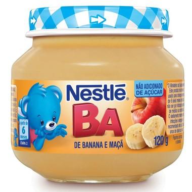 Papinha Nestlé de Banana e Maçã 120g