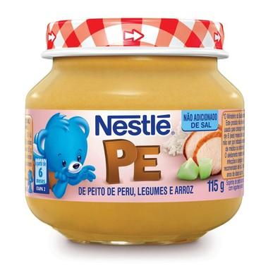 Papinha Nestlé Peito de Peru, Legumes e Arroz 115g