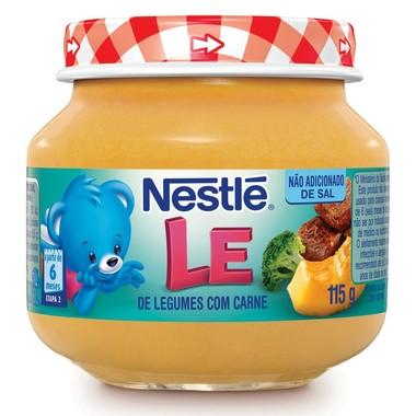 Papinha Nestlé de Legumes com Carne 115g