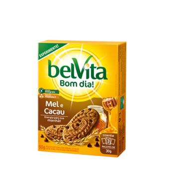 Biscoito belVita Mel e Cacau 90g