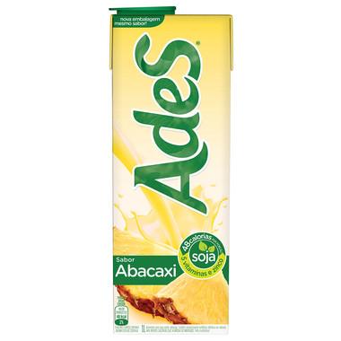Bebida à Base de Soja Ades Abacaxi 1L
